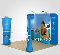 10ft S Shape Tension Fabric Display Stand