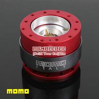 MOMO Steering wheel Accessories hub, steering wheel tool for modified car-Red + black(K088)