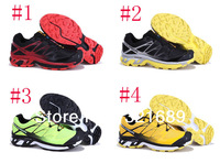 Free Shipping 4 colors CPA New Arrival Salomon Running shoes Men Sport Running Shoes Mens Sneakers Wholesale Price 40-45