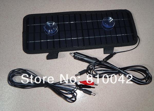 Панель солнечных батарей SolarSucceed 4.5W /Vechile DC12V + 3  Car-4.5W панель солнечных батарей jk 6 3 5w usb aba47