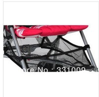 Baby stroller umbrella car, cart accessories love bei quality goods carrying baskets/r bag, mesh bag net