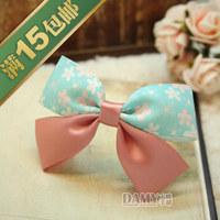 Free shipping, HOT, Hair accessory diy handmade bow hair clip hair clip 131