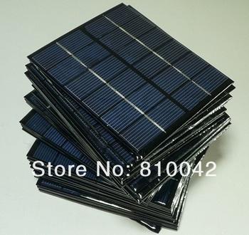 Polycrystalline Solar Cells Solar Panels Solar Module Solar System  2W 6V  3pcs/lot Free shipping