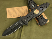 ELF MONKEY B096B Outdoor Survival Folding Knife Tactical Knife 56HRC 440C Free Shipping (120g)