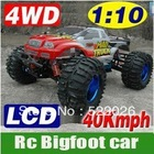 1/10 R/C RADIO REMOTE CONTROL RC MAD TRUCK 4WD ESC OFF ROAD monster buggy hobby r/c big-foot cars toys HL 3851(China (Mainland))