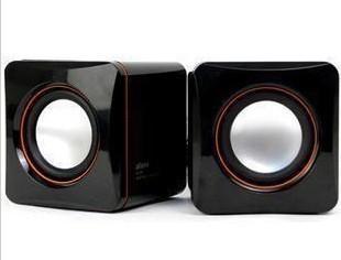 Free shipping 3.5mm USB mini speaker mini audio notebook computer speaker audio system