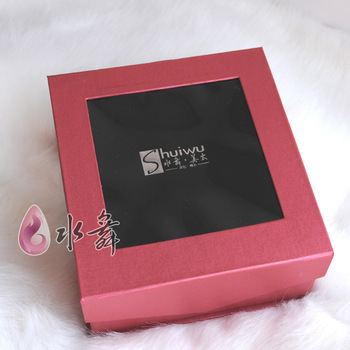 2013 fashion jewelry Water bride noble red matt gift box chain sets box valentine day gift