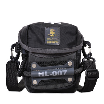 backpack 2013 male shoulder bag small messenger bag waist pack female fashion mobile phone bag small bag casual sports
