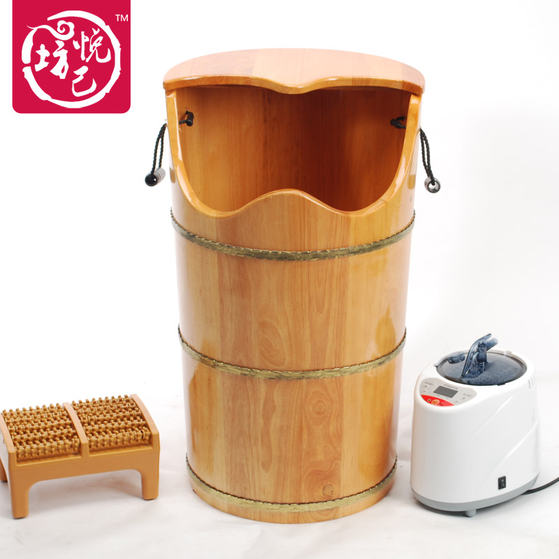 High-grade oak barrels fumigation foot tub steaming foot barrels foot barrels heightening 70CM(China (Mainland))