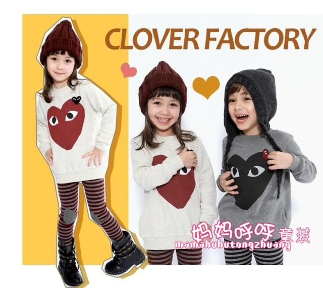 Children's clothing female child spring and autumn big eyes princess set low price hot selling(China (Mainland))