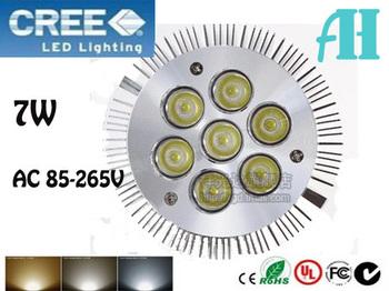 x5pcs/lot NEW Big spotlight 7W E27 AC 85-265V  Pa 30 38 Warm white/Pure white/Cool white led spotlight Lamp Bulb Free Shipping