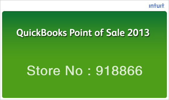 QuickBooks POS 11.0 Quickbooks Point of Sale 2013 English online version(China (Mainland))