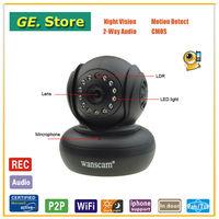 Wanscam Wireless Dual audio P2P Web cam with Wifi PT CCTV Surveillance ip camera
