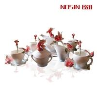 Fashion coffee set enamel coffee advanced porcelain gift ceramic gifts