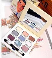 Free Shipping New The Balm Meet Matt 9 Colors Matte Eye Shadow Palette 9.5g (1Pieces/Lot)