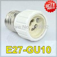 20pcs/lot, E27-GU10 Lamp base Holder Converter, E27 to GU10 led lamp socket adapter, lamp screw base, freeshipping