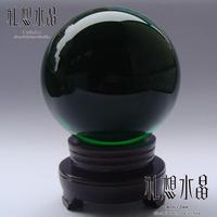 Crystal ball decoration 130 150 200mm green feng shui ball crystal ball housewarming gifts