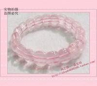 Natural pink crystal cards