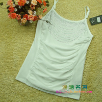 Fashion 2012 zhong yi han a2055 double layer yarn adjustable shoulder strap spaghetti strap vest