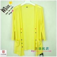 Elastic gauze cool casual half sleeve cardigan cape fashion zhong yi han a2806