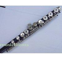 Purple 17 Open Holes flute C key +E Great Tone Metal