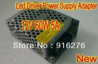 New DC 12V 60W 5A Electronic LED Driver Power Supply Adapter Transformer AC 110V-240V  High Quality