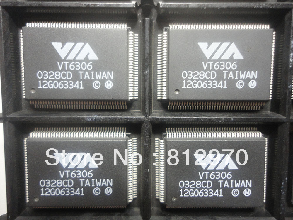 VT6306 Brand of VIA LQFP128 Original and New in Stock ntegrated Circuit Contact us for best price(China (Mainland))