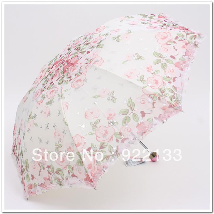 free shipping 2013 Umbrella princess umbrella arch umbrella apollo umbrella folding bowl(China (Mainland))