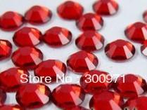 Free shipping1440pcs SS6 LT. SIAM flat back rhinestone,Non HotFix Rhinestones,crystal rhinestone decoration for diy nail art(China (Mainland))