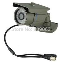 1/4 Sharp 420TVL CCD 0.3MP 6mm Lens 24LED Night Vision Function CCTV Camera