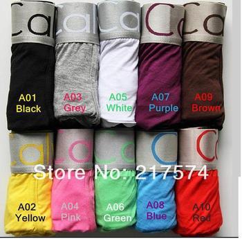 In stock  4pcs  Hot Sale Male Underewear Men Brand Underwear Gentleman Boxer Pant Nice Design Handsome Brief Pants Free Shipping