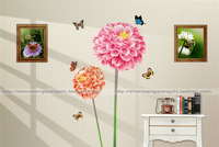 2013 Wall stickers the third generation wall stickers living room tv wall tv wallpaper free shipping