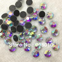 BLING Crystal AB Color DMC Hot Fix Rhinestone Size SS6 SS10 SS16 SS20 S30 SS34 SS40