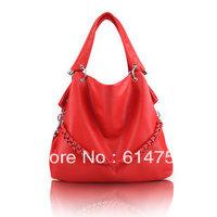 New Arrived Free shipping 2013  hot selling women's PU handbags fashion handbags
