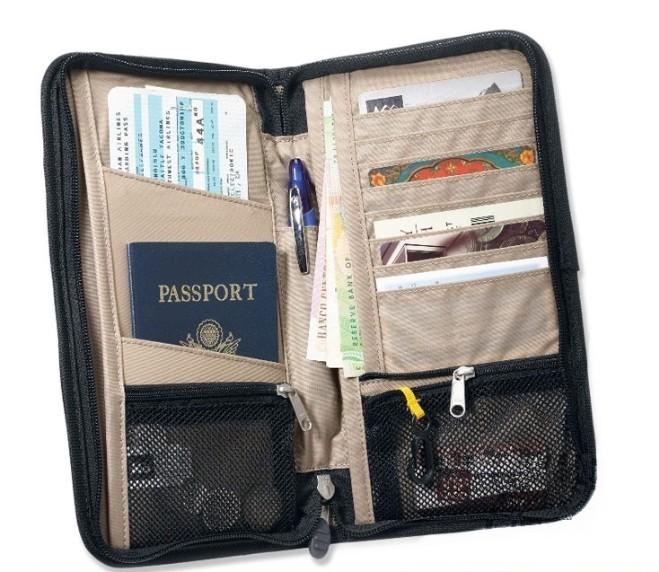 Дорожный кошелек для документов