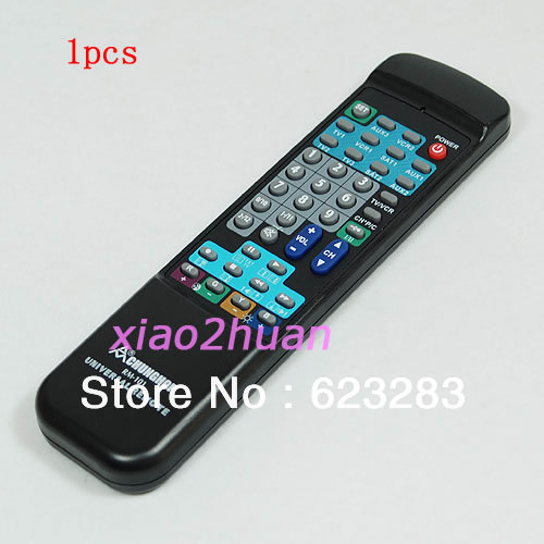 Free Shipping 10in1 Universal Remote Control for TV VCR DVD SAT VCD(China (Mainland))