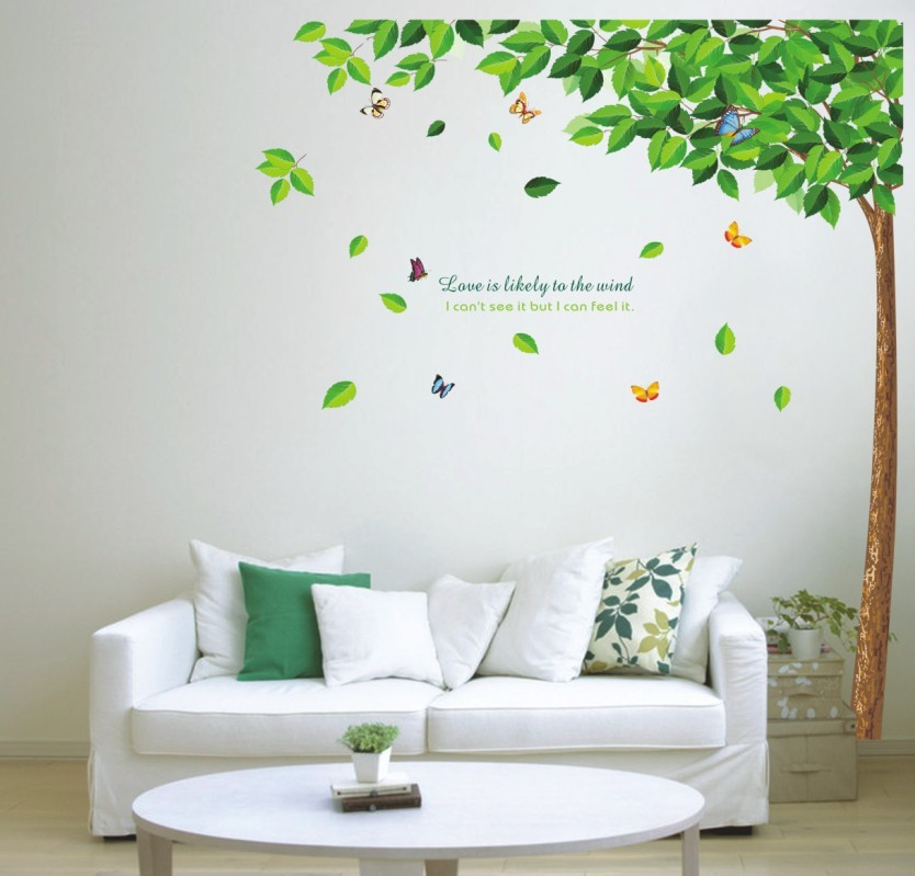 Free ship 3d Removable home decor Nursery Room Sticker vinyl wall stickers large decals tree Wall paster for kids rooms/ AY886(China (Mainland))