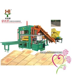 Automatic Block Machine With Hydraulic Press QTJ4-20(China (Mainland))