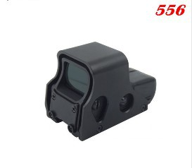 Tactical Holographic Airsoft 556 Holographic Red Dot Sight Scope Rifle Scope Spotting Scope Freeshipping and Wholesale(China (Mainland))