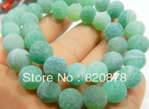 "8mm Green Dream Fire Dragon Veins Agate Round Loose Beads 15"" Fashion jewelry 2pc/lot TY#003 PJL22(China (Mainland))"