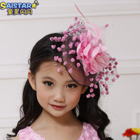 Promotion Free Shipping Child hair accessory  exquisite fishing net flower   y2515