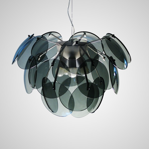 Modern brief m pinecone art pendant light dining room pendant light living room lights glass lamp(China (Mainland))