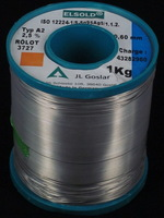Germany ELSOLD silver containing 5% tin solder wire 0.6mm wire     5 yuan / m