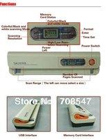 DHL Skypix TSN420 600dpi A4 Portable Color Handy film Scanner  USB document scanner Handy Scanner SKYPIX  Wholesale 5pcs/lot