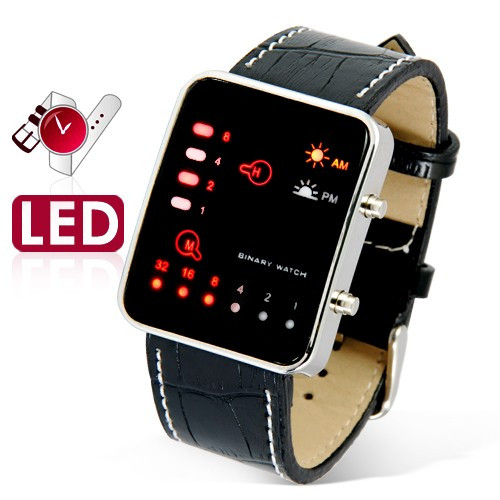 Fashion led watch male led electronic watch strap casual sports table(China (Mainland))