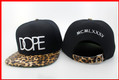 2013 New Arrival Leopard Dope Strapback Hats Unisex Caps Snapbacks Baseball Hat for men Quality fashion Mix Order Free Shipping