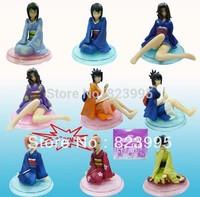 NEW NARUTO  fox ninja    kimono heroine Special edition  A total of nine models  PVC 6-7cm