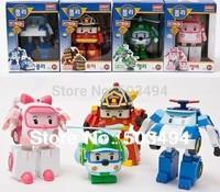 Robocar poli movable car bubble toys 4models mix robocar poli car Retail 1pc Free shipping