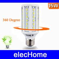 High Power E27 220V 8W 5730 SMD 60 leds LED Corn Light  LED Corn Bulb Lamp Lighting Bulbs Free Shipping