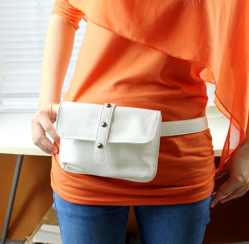 Поясная женская сумка